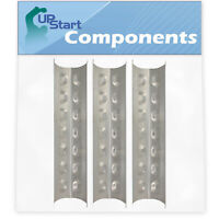 3-Pack BBQ Grill Heat Shield Plate Tent Parts for Master Forge RT2417S