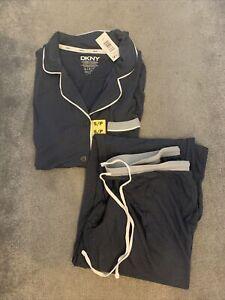 DKNY Short Sleeved Pyjama Set Size S BNWT