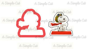 Flying Snoopy Cookie Cutter