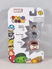 Marvel Tsum Tsum Series 1 - New #05540 - Spider-Woman, Grey Hulk & Falcon