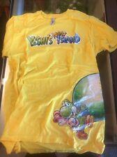 Nintendo Employee New Yoshi's Island 3ds Shirt Not Sold To Public Promo Rare!