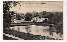 CARMICHAEL POND, BALDOVAN, DOWNFIELD, DUNDEE: Angus postcard (C18086)