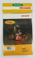BNIB OO HO Gauge VOLLMER 43667 CAMPFIRE WITH FLICKERING LIGHT KIT