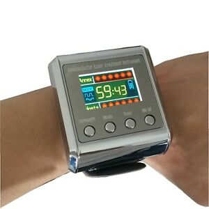 650nm Low Level Laser Therapy Wrist Device for High Blood Pressure Strokes LLLT