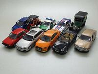 10 x Modellautos Konvolut 1:43 (DEFEKT) von Altaya/IXO/Minialuxe/iScale