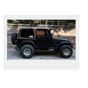 Desert intake Snorkels system For Jeep Wrangler TJ 1992-2006 Petrol AMCI6 4.0L