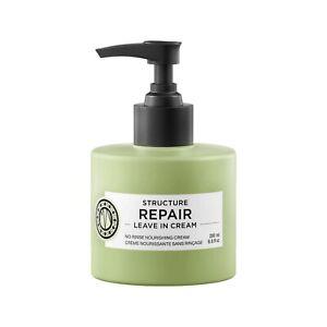 Maria Nila  Structure Repair Leave-In Cream 6.8 oz / 200 ml sulfate paraben free