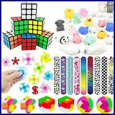 Kids Party Toys Favors Assortment Supplies Kit Mochi Squishies Puzzles For Birth