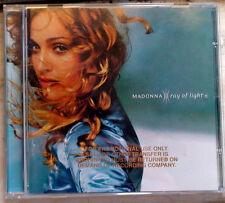 MADONNA RAY OF LIGHT 1998 US CD COVER gold-stamped promo MADE IN USA