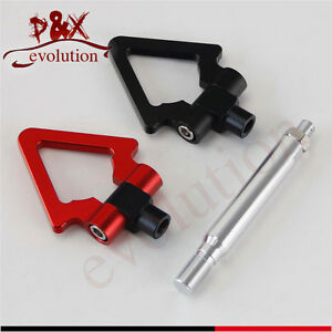 Black Aluminum Tow Hook Towing Hook Ring for Toyota GT86 Scion FRS BRZ 13-15