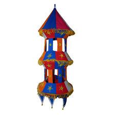 ABAT-JOUR PAGODE Multicolore 75 Cm Luminaire Suspendu Patchwork