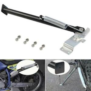 """14"""" Universal Clamp On Side Kick Stand For Motorcycle Off Road Bike Heavy Duty"""