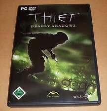 PC Game Spiel - Thief - Deadly Shadows - Deutsch komplett