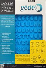 Alphabet Concrete Silicon Molds Plaster Number Capital English Letter DIY Crafts