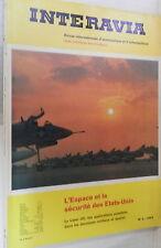 INTERAVIA 1964 Francese Aviazione VTOL Skyhawk Mach 8 Radar Decca Concorde Cina