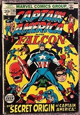 Captain America & Falcon #155 (Marvel, Nov. 1972)  Origin Jack Monroe (Bucky)