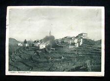 1942 rara cartolina CARRO La Spezia Panorama Nord