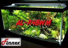 """Finnex FugeRay Planted+ Plus AL-R48WM 48"""" LED 36w Aquarium Fixture w/ Moonlights"""
