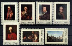 8849 RUSSIA 1972 ART PAINTINGS MNH
