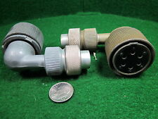 (1) PL-Q166 CONNECTOR for SCR-522 VHF AIRCRAFT RADIO NOS