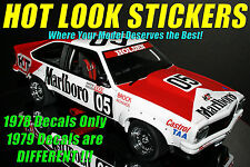 1:18 Vinyl MISSING Decals Brock 1978 ATCC / Bathurst Winner Torana HDT Biante