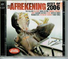 CD : De Afrekening 41 Best Of 2006 (2cd box) Studio Brussel