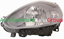 FARO FANALE PROIETTORE ANTERIORE SX P/NERA H4 FIAT PUNTO EVO 09> 2009>
