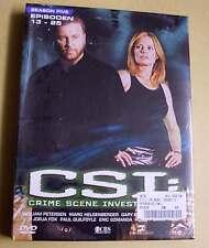 DVD Box CSI: Staffel Season 5 Fünf Five - Epsioden 13 - 25 DVDs 5.2 Neu OVP
