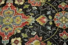 Floral Damask Print Bettina Cindersmoke Covington Fabric
