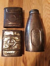 Miners Carbide Flasks Justrite 3 Styles