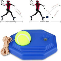 Self-study Singles Tennis Trainer Rebound Ball Baseboard Sport Sparring Device