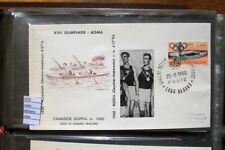 COVER OLYMPICS ROME 1960 BOATING GOLD MEDAL RUSSIA TEAM (C12)