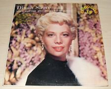DINAH SHORE SINGS COLE PORTER AND RICHARD ROGERS 1957 HARMONY RECORDS HL 7010