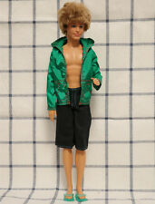 New Doll Clothes Doll Accessories green Sun clothing set for Barbie Ken doll
