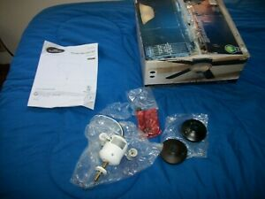 Open box Harbor Breeze 2-Light Black/Bronze Incandescent Ceiling Fan Light Kit