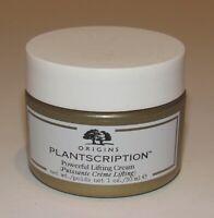 Origins Plantscription Powerful Lifting Cream Face Moisturizer 1 Oz Jar NWOB