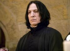 Harry Potter Severus Snape Cosplay Black Curly Short Men Wigs 30cm