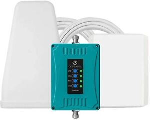 Anntlent 5 Band Cell Phone Signal Booster GSM 3G 4G LTE Cellular Repeater for...