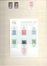 Collection of Australian Stamps 1984-1997 unmounted Mint mini sheets etc   (RB1)