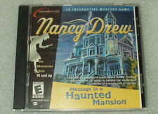 "Nancy Drew Message in a Haunted Mansion PC Game ""Exc Condition"" Fast Free Ship"