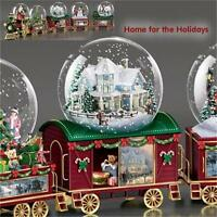 THOMAS KINKADE Home For the Holidays Wonderland Express Snow Globe TRAIN #3 NEW