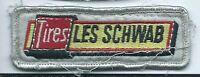 Les Schwab Tires advertising employee patch 1 X3-1/4 Colorado stores #576