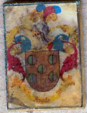 Heraldry PIN metallic del last name : ANGLE