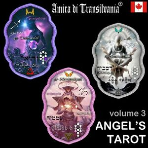 tarot of the angels dream oracle cards deck therapy messages from your angel V-3