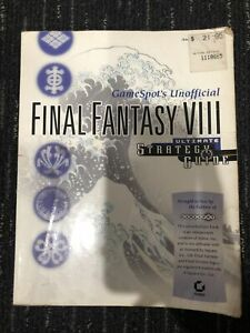 Final Fantasy 8 Game Spot Unoffical Ultimate Strategy Guide Book From 1997