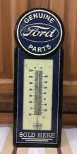 FORD PARTS THERMOMETER Ford Coupe Hot Rod Model Mobil Texaco Gas Oil Decor