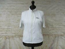 WOMENS ADIDAS LIGHTWEIGHT LINED SHORT SLEEVE TRACKSUIT TOP SIZE 16-18 / S0910