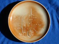 19?? Antique Nyon Porcelain Porzellan, Decorated Plate .