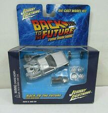 Johnny Lightning Back To the Future Time Machine Die-Cast Model Kit