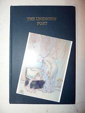 1a 1st ed. THE UNKNOWN POET 1998 Fleual numerato 34/250 RARO Poesia Postmoderna